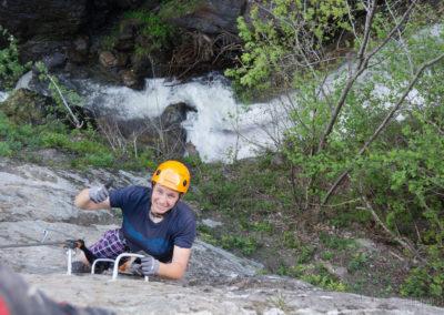 Zillertal Klettersteigset Leihen : Talbach klettersteig zillertal zell am ziller tirol